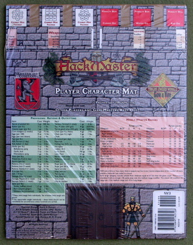 Image for HackMaster Player Character Mat
