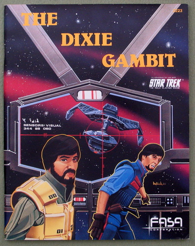 Image for The Dixie Gambit (Star Trek: The Role Playing Game)