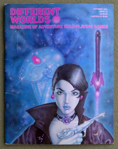 Image for Different Worlds Magazine, Issue 15