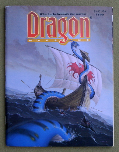 Image for Dragon Magazine, Issue 190