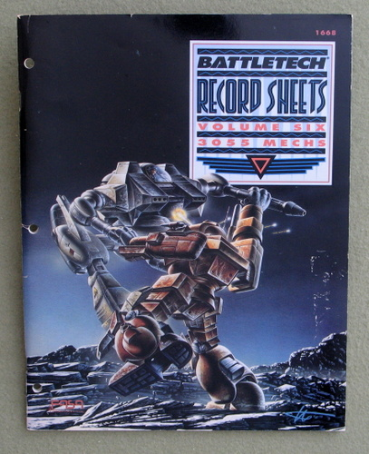 Image for Battletech Record Sheets Volume Six: 3055 Mechs