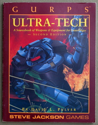 Image for GURPS Ultra-Tech: A Sourcebook of Weapons and Equipment for Future Ages (2nd Edition)