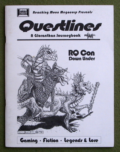 Image for Questlines: A Gloranthan Journeybook (Glorantha/Runequest)