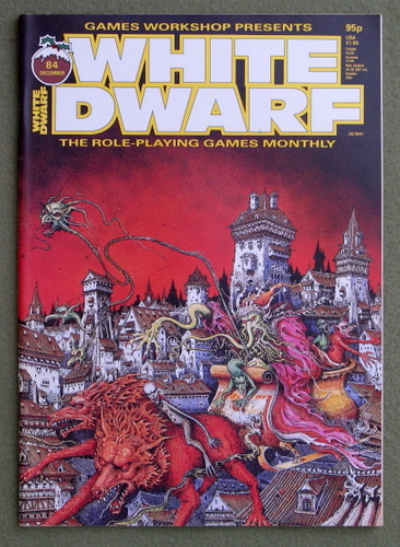 Image for White Dwarf Magazine, Issue 84