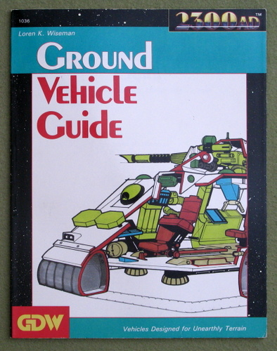 Image for Ground Vehicle Guide (2300AD RPG)