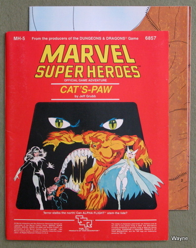 Image for Cat's-Paw (Marvel Super Heroes module MH5)