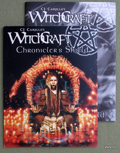 Image for Chronicler's Shield (CJ Carella's Witchcraft)