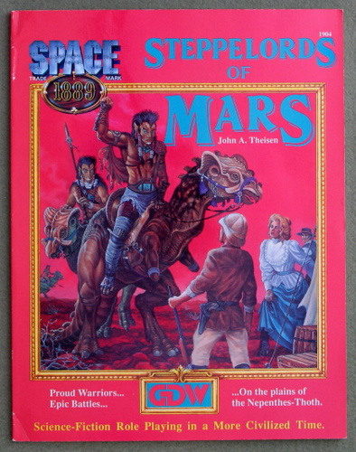 Image for Steppelords of Mars (Space 1889)