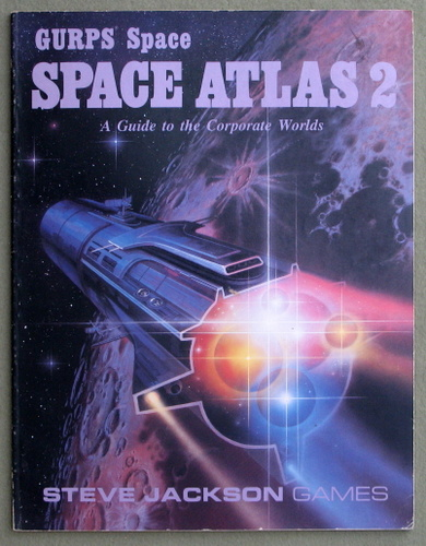 Image for GURPS Space Atlas 2: A Guide to the Corporate Worlds