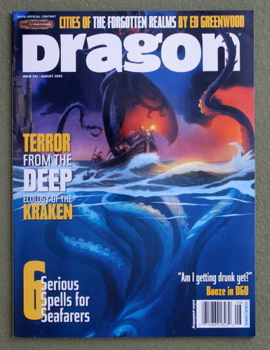 Image for Dragon Magazine, Issue 334