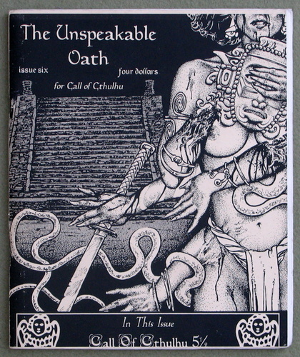 Image for Unspeakable Oath, Issue 6 (Call of Cthulhu)