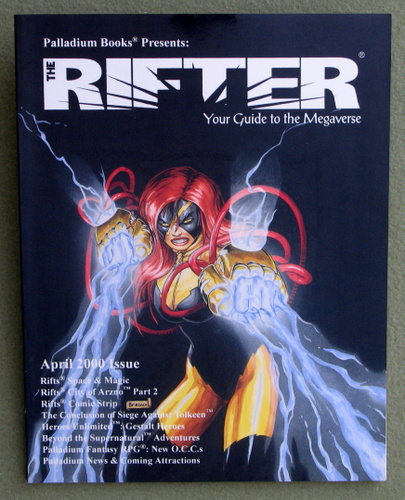 Image for Rifter #10: Your Guide to the Megaverse (Rifts)