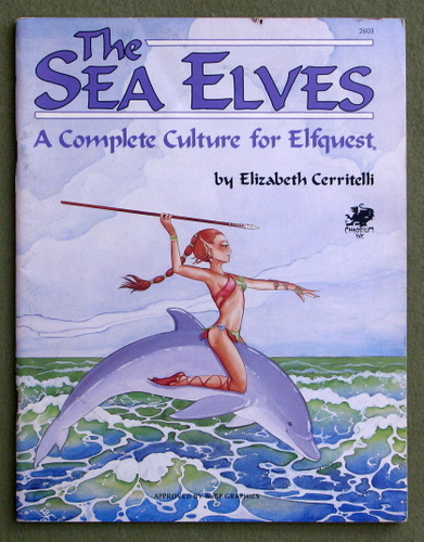 Image for The Sea Elves: A Complete Culture for Elfquest - HIGHLIGHTING
