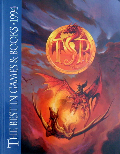 Image for TSR, The Best in Games & Books: 1994