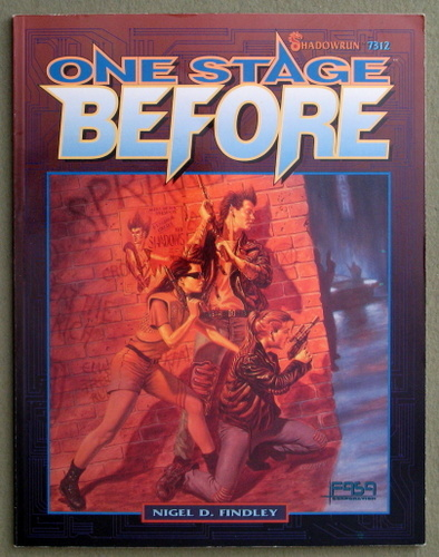 Image for One Stage Before (Shadowrun)