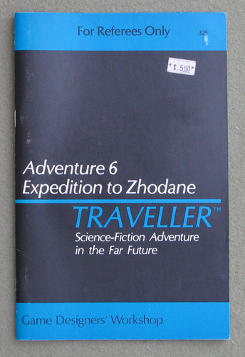 Image for Traveller Adventure 6: Expedition to Zhodane