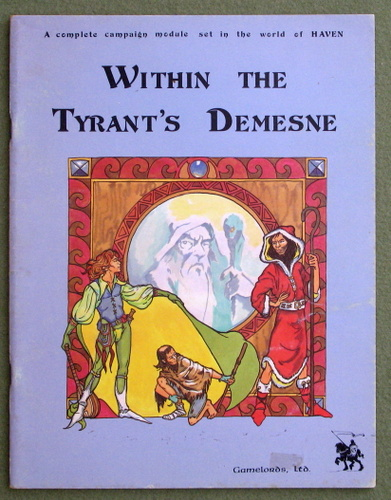 Image for Within the Tyrant's Demesne (Haven)