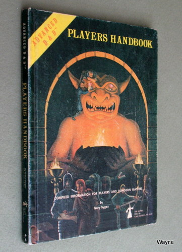 Image for Players Handbook (Advanced Dungeons & Dragons, 1st Edition) - 4TH PRINT