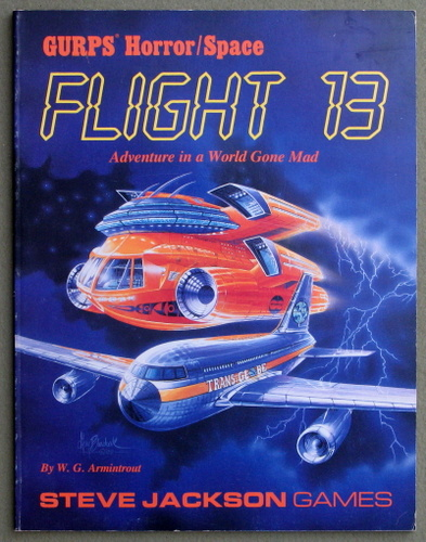 Image for Flight 13: Adventure in a World Gone Mad (GURPS Horror/Space)