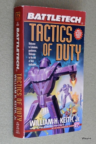 Image for Tactics of Duty (Battletech)
