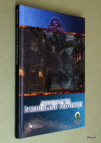 Image for Lost Lands: Adventures in the Borderland Provinces (Swords & Wizardry)