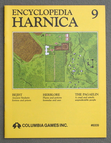 Image for Encyclopedia Harnica 9 (Harn Fantasy RPG Setting)