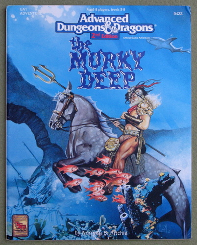 Image for The Murky Deep (Advanced Dungeons & Dragons Module GA1)