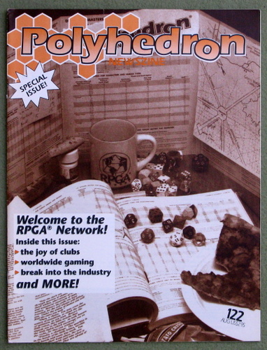 Image for Polyhedron Magazine, Issue 122