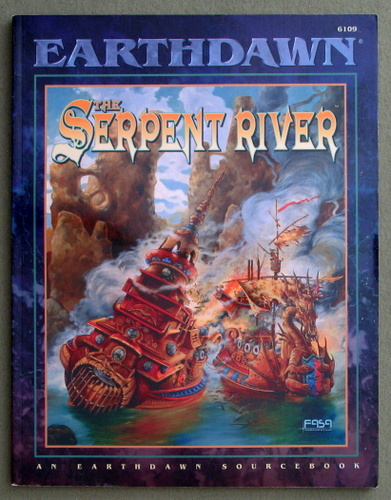 Image for The Serpent River (Earthdawn)
