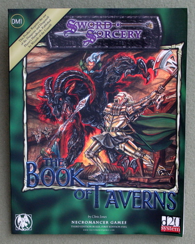 Image for Book of Taverns (Dungeons & Dragons: D20 system)