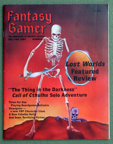 Image for Fantasy Gamer, Number 3: The Magazine of Fantasy Gaming (Dec/Jan 1984)