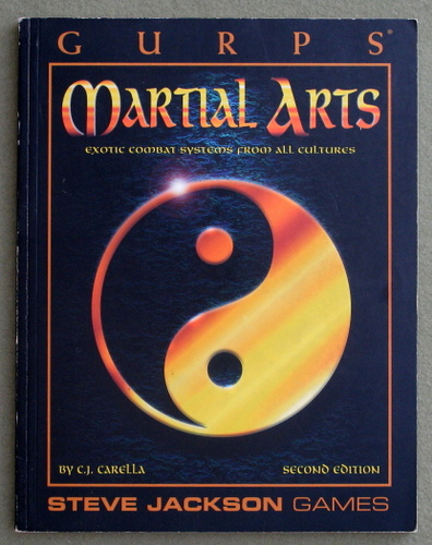 Image for GURPS Martial Arts: Exotic Combat Systems From All Cultures (2nd Edition)