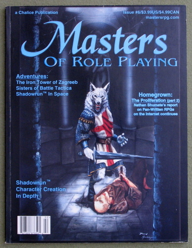 Image for Masters of Role Playing Magazine, Issue 6