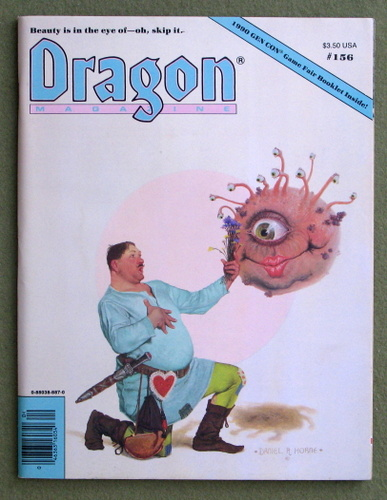 Image for Dragon Magazine, Issue 156