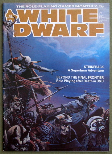 Image for White Dwarf Magazine, Issue 58