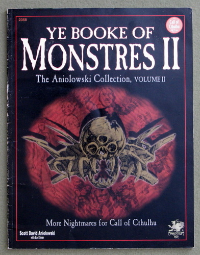 Image for Ye Booke of Monstres II: More Nightmares for Call of Cthulhu - PLAY COPY