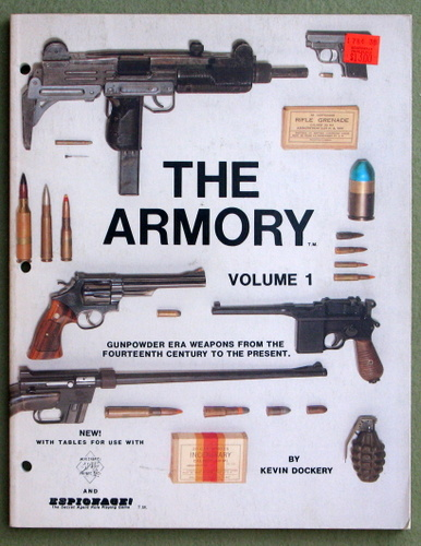 Image for The Armory, Vol. 1: Gunpower Era Weapons From The Fourteenth Century To The Present