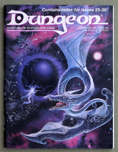 Image for Dungeon Magazine, Issue 36