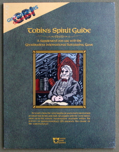Image for Tobin's Spirit Guide (Ghostbusters International)