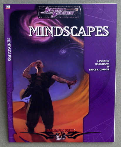 Image for Mindscapes: A Psionic Sourcebook (Dungeons & Dragons: D20 system)