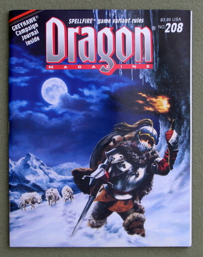 Image for Dragon Magazine, Issue 208