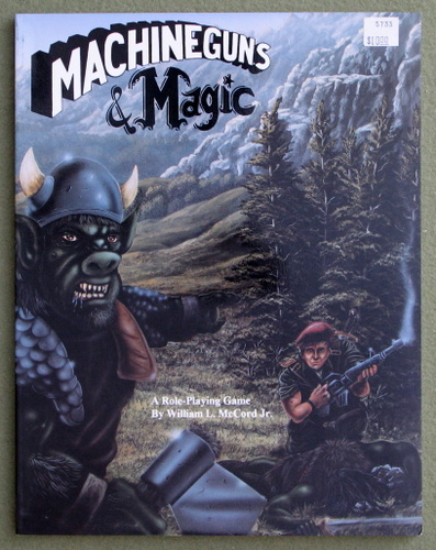 Image for Machineguns & Magic: A Role-Playing Game