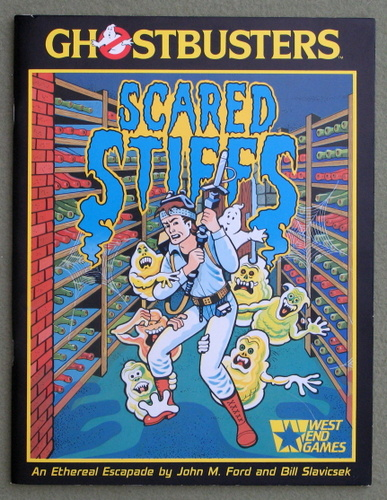 Image for Scared Stiffs (Ghostbusters)
