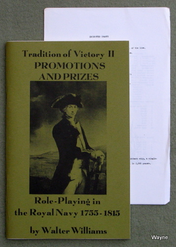 Image for Tradition of Victory II - Promotions and Prizes: Roleplaying in the Royal Navy 1755 - 1815