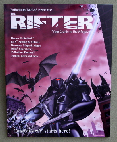Image for Rifter #17: Your Guide to the Megaverse (Rifts)