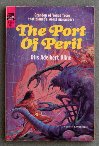 Image for The Port of Peril (Ace F-294)