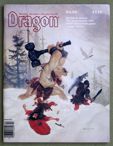 Image for Dragon Magazine, Issue 119