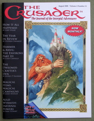 Image for Crusader Journal: Castles & Crusades Magazine, Vol 4 No 11 (August 2008)