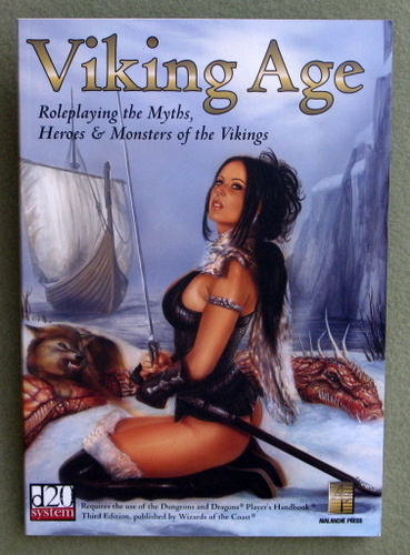 Image for Viking Age: Roleplaying the Myths, Heroes & Monsters of the Vikings (D20 system)