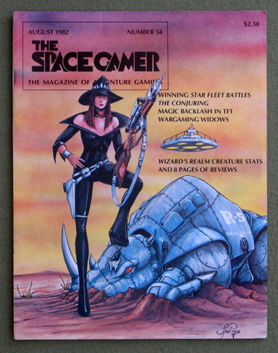 Image for The Space Gamer Magazine, Issue 54